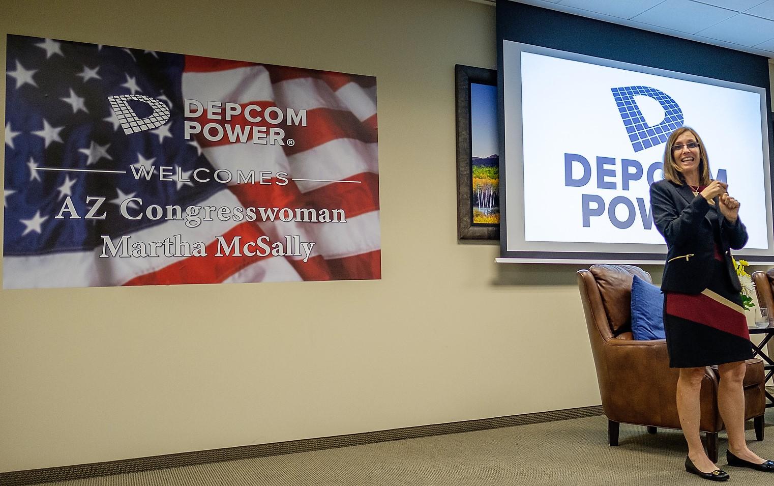 DEPCOM Team Members Talk U.S. Solar Legislation with AZ Congresswoman Martha McSally